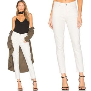 Citizens of Humanity Rocket High Rise Skinny White